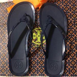 Tory Burch jelly flip flop sandals Size 8